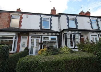 Thumbnail 2 bed terraced house to rent in Victoria Avenue, Willerby, Hull
