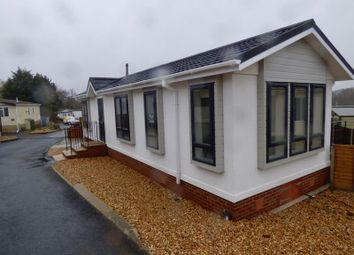 Thumbnail 1 bed mobile/park home for sale in Glendene Park, Bashley Cross Road, New Milton