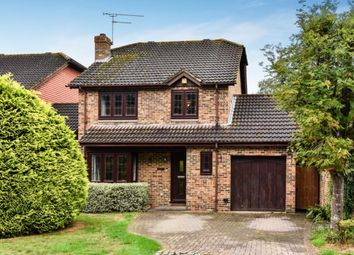 Thumbnail 4 bed detached house for sale in Lowfield Close, Lightwater