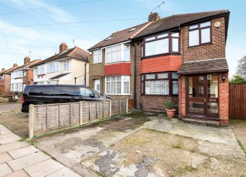 Thumbnail 3 bed semi-detached house for sale in Cassiobury Avenue, Feltham