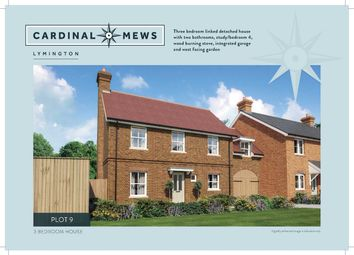 Thumbnail 4 bed link-detached house for sale in Cardinal Mews, Lymington