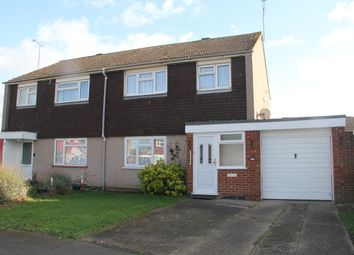 Thumbnail 3 bed semi-detached house for sale in Merlin Close, Slough