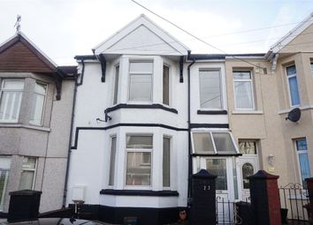 Thumbnail 3 bed terraced house for sale in Montclaire Avenue, Blackwood, Caerphilly