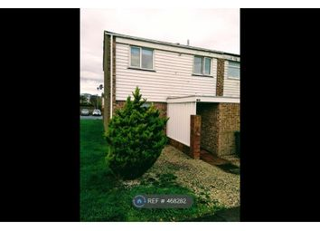 Thumbnail 3 bed end terrace house to rent in Linden Close, Eastbourne