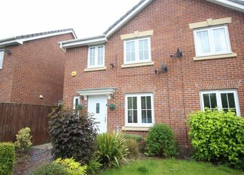 Thumbnail 3 bed semi-detached house for sale in Vale Gardens, Springview, Wigan