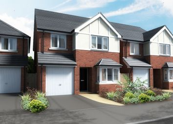 Thumbnail 4 bed detached house for sale in Hilltop, Breadsall, Derby