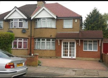 Thumbnail 5 bed semi-detached house to rent in Ashdown Road, Uxbridge