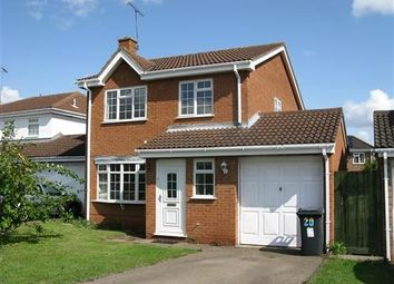 Thumbnail 4 bed detached house to rent in Wakehurst Drive, East Hunsbury, Northampton