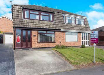 Thumbnail 3 bed semi-detached house for sale in Hartland Drive, Sunnyhill, Derby