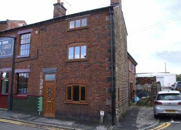 Thumbnail 2 bed end terrace house to rent in Wood Street, Leek