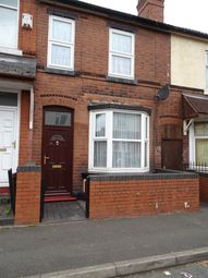 Thumbnail 1 bedroom flat to rent in Thorne Street, Wolverhampton