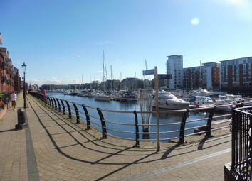 Thumbnail 2 bedroom flat to rent in Arethusa Quay, Maritime Quarter, Swansea