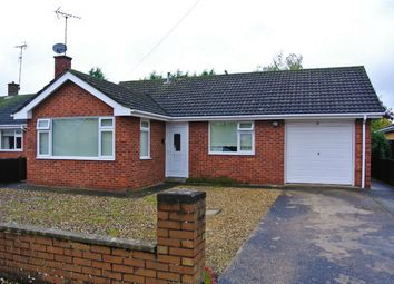 Thumbnail 2 bed detached bungalow for sale in Churchill Avenue, Bourne, Lincolnshire