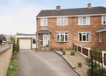 Thumbnail 3 bed semi-detached house for sale in Appletree Drive, Dronfield, Derbyshire
