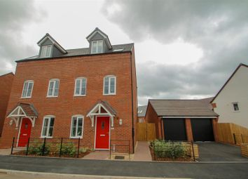 Thumbnail 3 bed semi-detached house for sale in The Village, Wedgwood Drive, Barlaston, Stoke-On-Trent