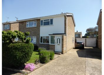 Thumbnail 2 bed semi-detached house for sale in Vermeer Crescent, Southend-On-Sea