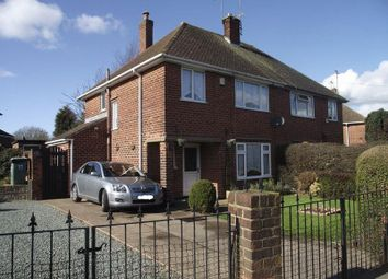 Thumbnail 4 bed semi-detached house for sale in Davey Road, Mansfield