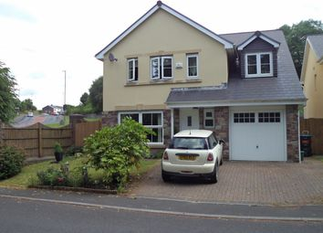 Thumbnail 5 bed detached house for sale in Maes Aneurin Bevan, Sirhowy, Tredegar
