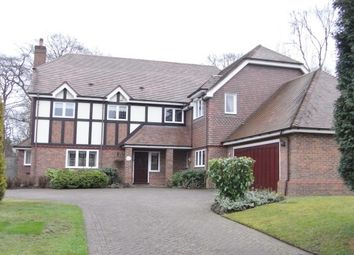 Thumbnail 5 bed detached house to rent in Sunningdale, Little Aston Park Road