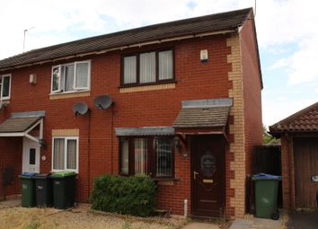 Thumbnail 2 bed end terrace house for sale in Avern Close, Tipton