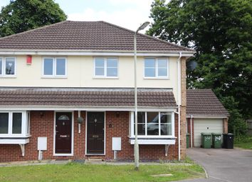 Thumbnail 3 bed semi-detached house to rent in Bassenthwaite Gardens, Bordon