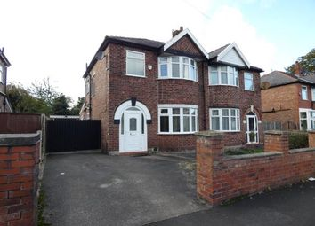 Thumbnail 3 bed semi-detached house for sale in Alexandra Road South, Chorlton, Manchester, Greater Manchester