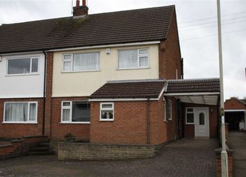 Thumbnail 4 bed semi-detached house for sale in Jonathon Close, Groby, Leicester
