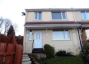 Thumbnail 3 bedroom semi-detached house to rent in Linden Grove, Edlington, Doncaster