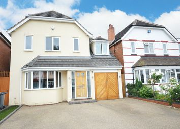 Thumbnail 4 bed detached house for sale in Hazeloak Road, Shirley, Solihull