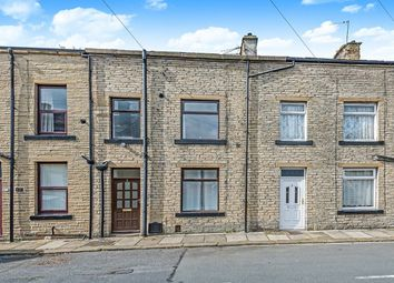 Thumbnail 3 bed terraced house for sale in Station Road, Denholme, Bradford