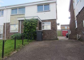Thumbnail 2 bed flat to rent in Colebrook Close, Near Evington Lane, Evington