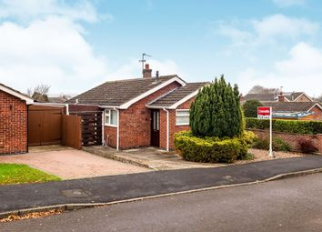 Thumbnail 2 bed detached bungalow for sale in Trent Bank, Melton Mowbray