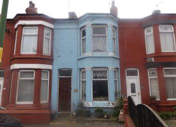 Thumbnail 2 bed terraced house for sale in Clarendon Road, Seaforth, Liverpool
