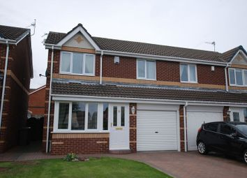Thumbnail 3 bed semi-detached house for sale in Farnham Grove, Willow Steads, Blyth