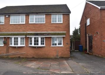 Thumbnail 3 bed property to rent in Woodford Crescent, Burntwood