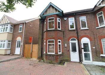Thumbnail 3 bed end terrace house to rent in Limbury Road, Luton