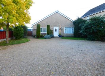 Thumbnail 4 bed bungalow to rent in Church Road, West Row, Bury St. Edmunds