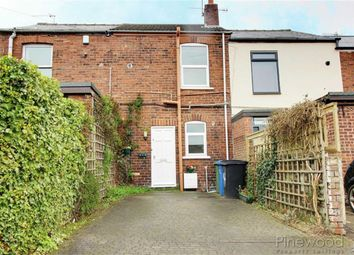 Thumbnail 2 bedroom terraced house to rent in Clubmill Terrace, Chesterfield, Derbyshire