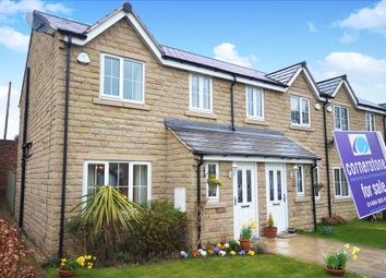 Thumbnail 3 bed town house for sale in Haslegrave Park, Crigglestone, Wakefield, West Yorkshire