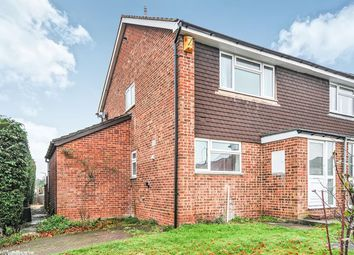 Thumbnail 3 bed semi-detached house to rent in Malyons Road, Swanley