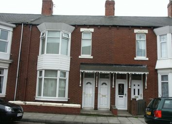 Thumbnail 3 bed flat for sale in Alverthorpe Street, South Shields