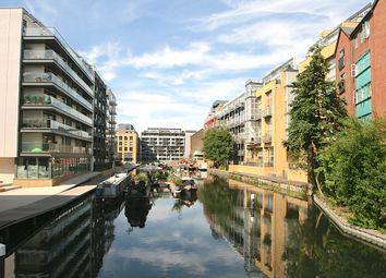 Thumbnail 1 bed flat to rent in Downham Wharf, Hertford Road, Islington