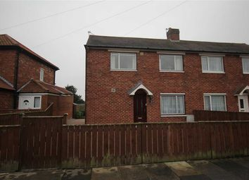 Thumbnail 2 bed semi-detached house for sale in Fern Drive, Dudley, Cramlington
