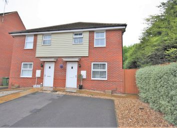 Thumbnail 3 bed semi-detached house for sale in Castilian Way, Whiteley, Fareham