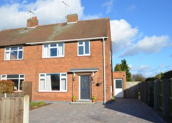 Thumbnail 3 bed semi-detached house for sale in Hind Avenue, Breaston, Derby