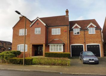 Thumbnail 6 bed detached house to rent in Clegg Square, Shenley Lodge, Milton Keynes