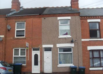 Thumbnail 2 bed terraced house to rent in Poplar Road, Earlsdon, Coventry