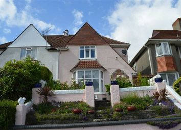 Thumbnail 3 bed semi-detached house for sale in Lon Cadog, Swansea