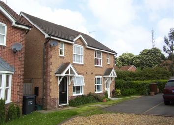 Thumbnail 2 bed semi-detached house to rent in Lambrook Drive, East Hunsbury, Northampton