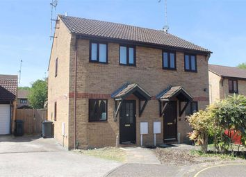 Thumbnail 2 bed semi-detached house to rent in Trivett Close, Greenhithe